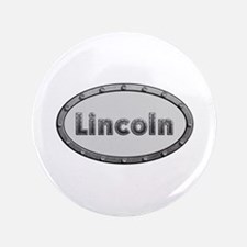 Lincoln Metal Oval Big Button