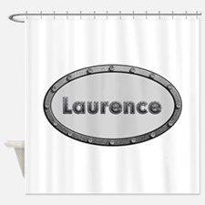 Laurence Metal Oval Shower Curtain