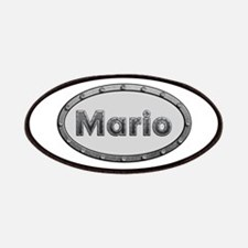Mario Metal Oval Patch