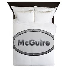 McGuire Metal Oval Queen Duvet