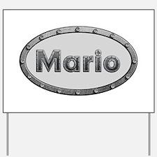 Mario Metal Oval Yard Sign