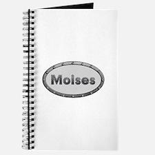 Moises Metal Oval Journal