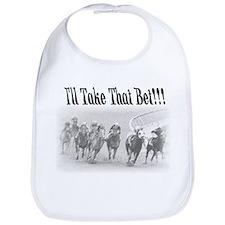 Cute Kentucky derby Bib