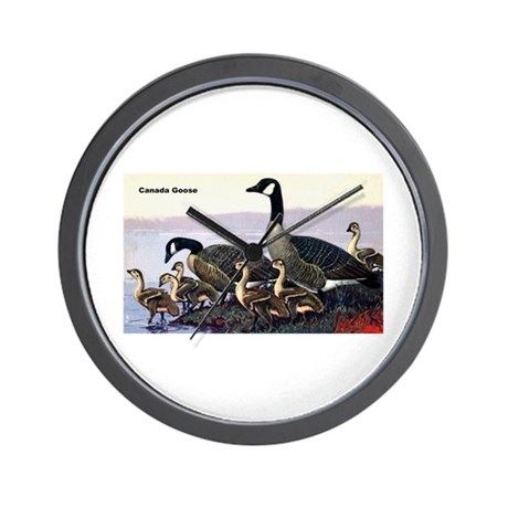 Canadian Goose Wall Clock