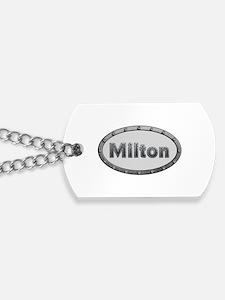 Milton Metal Oval Dog Tags