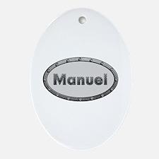Manuel Metal Oval Oval Ornament