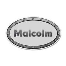 Malcolm Metal Oval Wall Decal