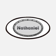 Nathaniel Metal Oval Patch