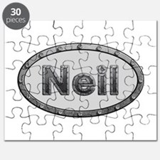 Neil Metal Oval Puzzle