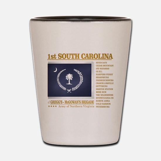 1st South Carolina Infantry (BH2) Shot Glass