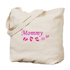Cute Preggers Tote Bag