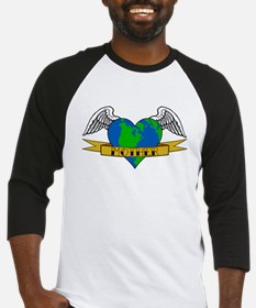 Earth Day Mother Tattoo Baseball Jersey