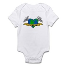 Earth Day Mother Tattoo Infant Bodysuit
