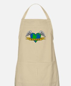 Earth Day Mother Tattoo BBQ Apron