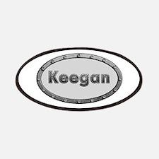 Keegan Metal Oval Patch