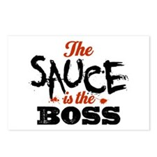 Boss Sauce Postcards (Package of 8)