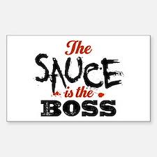 Boss Sauce Decal