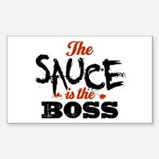 Boss Sauce Sticker (Rectangle)