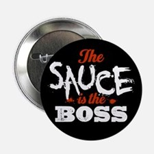 "Boss Sauce 2.25"" Button (100 pack)"