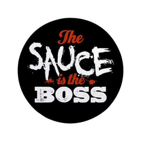 """Boss Sauce 3.5"""" Button (100 pack)"""