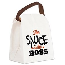 Boss Sauce Canvas Lunch Bag