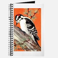 Downy Woodpecker Bird Journal