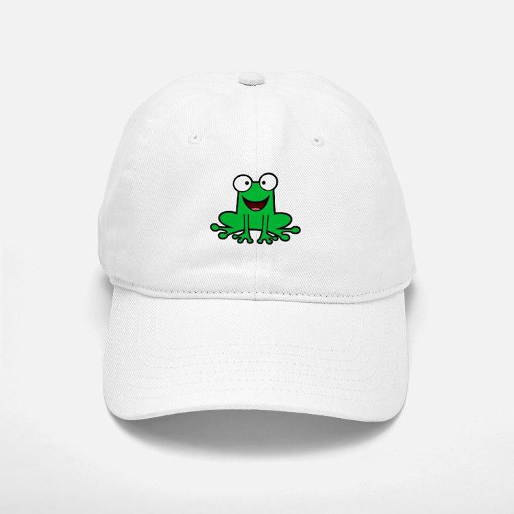 Happy Frog Baseball Baseball Cap