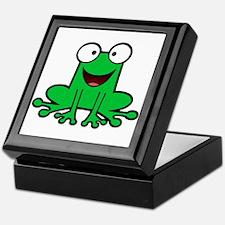 Happy Frog Keepsake Box