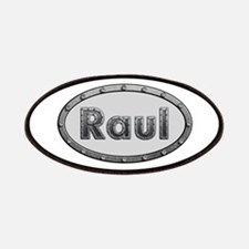 Raul Metal Oval Patch