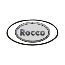 Rocco Metal Oval Patch