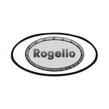 Rogelio Metal Oval Patch