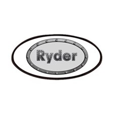 Ryder Metal Oval Patch