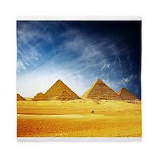 Giza Pyramids Queen Duvet