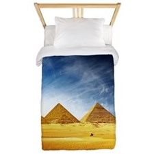 Giza Pyramids Twin Duvet