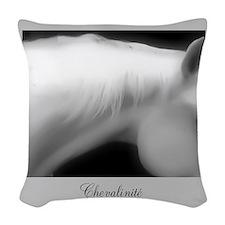 Horse Theme Design #69999 Woven Throw Pillow