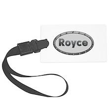 Royce Metal Oval Luggage Tag