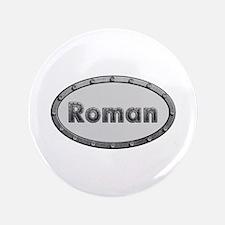 Roman Metal Oval Big Button