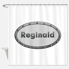Reginald Metal Oval Shower Curtain