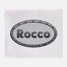 Rocco Metal Oval Throw Blanket