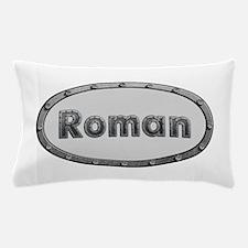 Roman Metal Oval Pillow Case