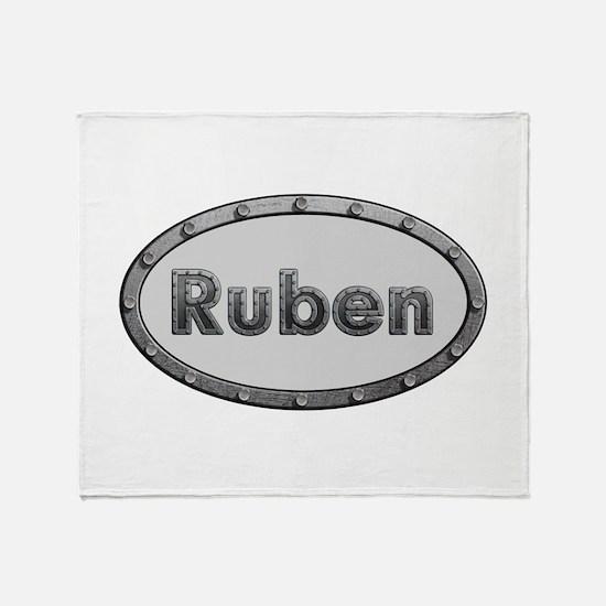 Ruben Metal Oval Throw Blanket