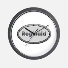 Reginald Metal Oval Wall Clock