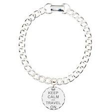 Keep Calm and Travel on Bracelet