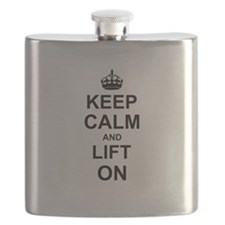Keep Calm and Lift on Flask
