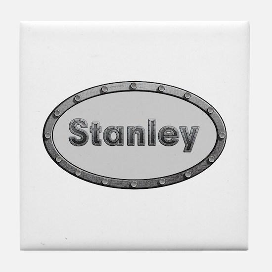 Stanley Metal Oval Tile Coaster