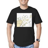 Apostle islands Fitted T-shirts (Dark)