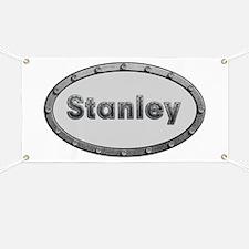 Stanley Metal Oval Banner