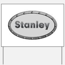 Stanley Metal Oval Yard Sign