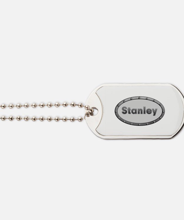 Stanley Metal Oval Dog Tags