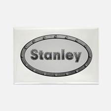 Stanley Metal Oval Rectangle Magnet 100 Pack